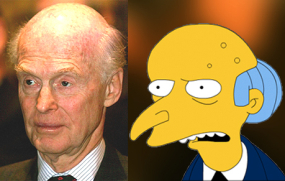 Fredrik Olsen vs. Montgomery Burns