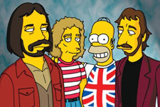Homer Simpson a kapela The Who